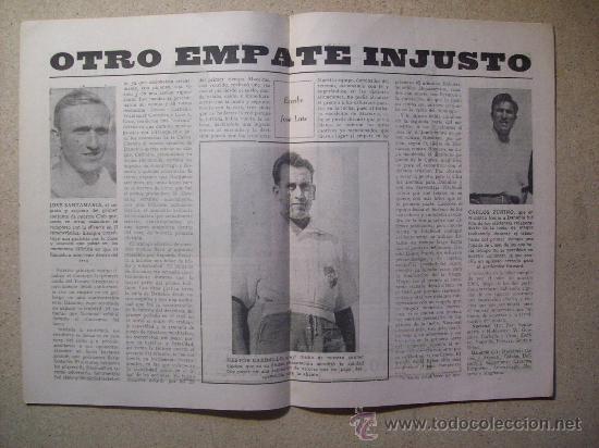 Coleccionismo deportivo: 1953 REVISTA CLUB NACIONAL DE FOOTBALL, FUTBOL URUGUAY. MAGAZINE N° 120 - WALDEMAR GONZALEZ - Foto 4 - 26625761