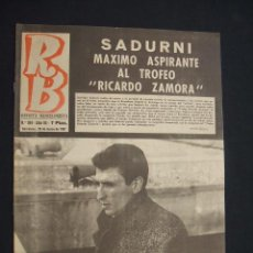 Coleccionismo deportivo: RB - REVISTA BARCELONISTA - Nº 104 - 29 MARZO 1967 - . Lote 27393258