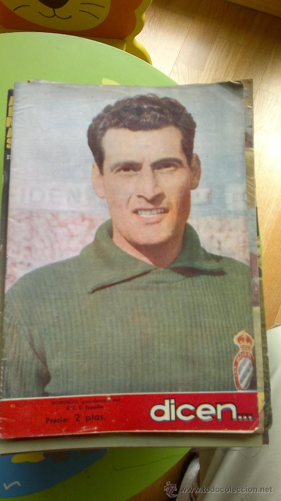 PERIÓDICO DEPORTIVO DICEN.. (Coleccionismo Deportivo - Revistas y Periódicos - otros Fútbol)