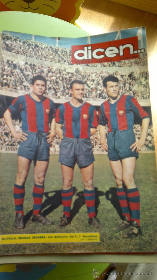 PERIODICO DEPORTIVO DICEN... (Coleccionismo Deportivo - Revistas y Periódicos - otros Fútbol)