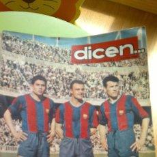 Coleccionismo deportivo: PERIODICO DEPORTIVO DICEN.... Lote 27783927