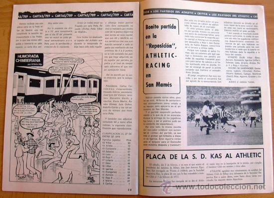 Coleccionismo deportivo: ATHLETIC, nº 14 - Revista oficial del Athletic Club de Bilbao - Febrero de 1974 - Foto 2 - 28295450