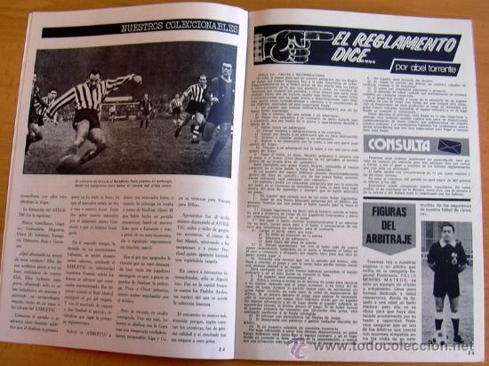 Coleccionismo deportivo: ATHLETIC, nº 16 - Revista oficial del Athletic Club de Bilbao - Abril de 1974 - Foto 2 - 28295484