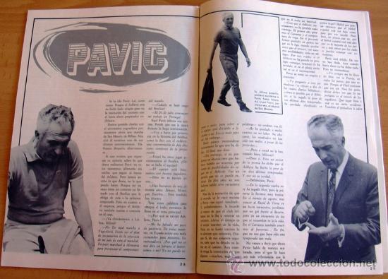 Coleccionismo deportivo: ATHLETIC, nº 18 - Revista oficial del Athletic Club de Bilbao - Junio de 1974 - Foto 2 - 28295496