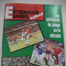 Coleccionismo deportivo: ANTIGUA REVISTA ENTRENADOR ESPAÑOL DE FUTBOL - ENVIO GRATIS A ESPAÑA. Lote 28295728