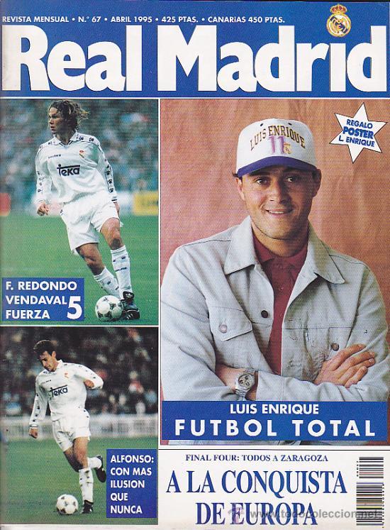REVISTA REAL MADRID Nº 67 (Coleccionismo Deportivo - Revistas y Periódicos - otros Fútbol)