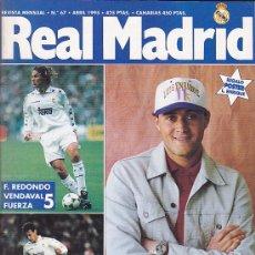 Coleccionismo deportivo: REVISTA REAL MADRID Nº 67 . Lote 28502512