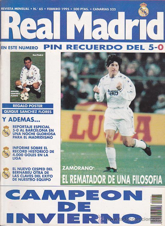 REVISTA REAL MADRID Nº 65 (Coleccionismo Deportivo - Revistas y Periódicos - otros Fútbol)
