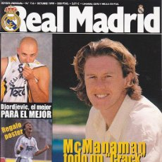Coleccionismo deportivo: REVISTA REAL MADRID Nº 116. Lote 28502737