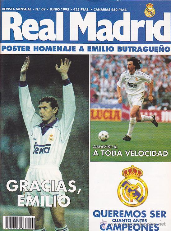 REVISTA REAL MADRID Nº 69 (Coleccionismo Deportivo - Revistas y Periódicos - otros Fútbol)