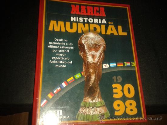 FICHAS HISTORIA MUNDIAL FRANCIA 1998 98 MARCA COMPLETO (Coleccionismo Deportivo - Revistas y Periódicos - otros Fútbol)