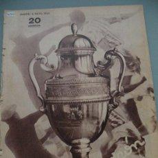 Coleccionismo deportivo: PRECIOSA REVISTA - CAMPEON - PREVIO FINAL COPA 1933-34 REAL MADRID VALENCIA C.F¡¡¡¡UNA JOYA!!!!. Lote 28655770