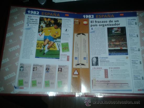 Coleccionismo deportivo: FICHAS HISTORIA MUNDIAL FRANCIA 1998 98 MARCA COMPLETO - Foto 4 - 172183615