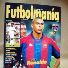 Collectionnisme sportif: REVISTA, FUTBOLMANIA, Nº 6, ESPECIAL RONALDO,1996. Lote 28919703