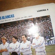 Coleccionismo deportivo: LIGAS BLANCAS,AUTOADHESIVAS,REAL MADRID !!!! HAY MÁS !!!!. Lote 28942255
