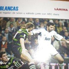 Coleccionismo deportivo: LIGAS BLANCAS,AUTOADHESIVAS,REAL MADRID. Lote 28942380