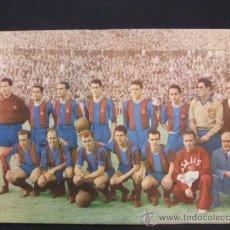 Coleccionismo deportivo: REVISTA - BOLETIN - C.F. BARCELONA 1952-53 - CON PASAPORTE A LA FAMA (FICHAS DE LOS JUGADORES) BARÇA. Lote 29131204