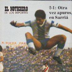 Coleccionismo deportivo: REVISTA EL NOTICIERO DE LOS DEPORTES SUPLEMETO DEL PERIODICO EL NOTICIERO. Lote 191480458