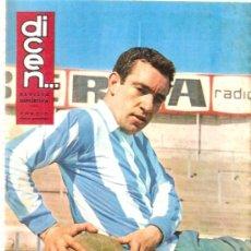Coleccionismo deportivo: REVISTA DEPORTIVA DICEN Nº 580 13 MARZO 1964. Lote 29203489