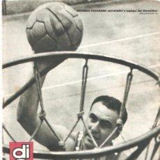 Coleccionismo deportivo: REVISTA DEPORTIVA DICEN Nº 252 24 AGOSTO 1957. Lote 29213295