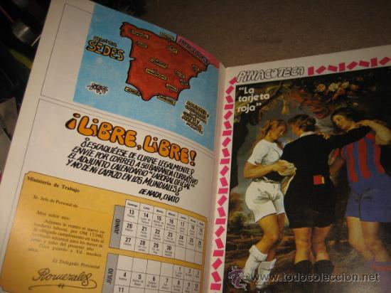 Coleccionismo deportivo: CON USTEDES..... FORGES 82......AÑO I .-Nº 2.- 27 DE ABRIL DE 1982 REVISTA DEDICACA AL MUNDIAL - Foto 2 - 29306577