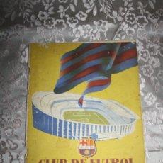 Coleccionismo deportivo: 0187- CLUB DE FUTBOL BARCELONA INFORMACIÓN AÑO 1955/ 1956 ROCALLA S.A. BARCELONA 8 NUMEROS.. Lote 29484005