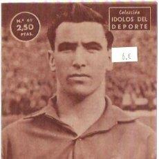 Coleccionismo deportivo: COLECCION IDOLOS DEL DEPORTE Nº 49 MAURI. Lote 29539978