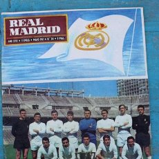 Coleccionismo deportivo: ANTIGUA REVISTA REAL MADRID Nº204 - MAYO 1967 - CAMPEONES DE LIGA 1966-1967 - EN - TIENE. Lote 29589690
