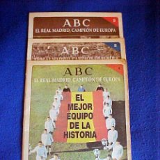 Coleccionismo deportivo: ABC REAL MADRID. Lote 29784621