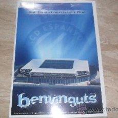 Coleccionismo deportivo: INAGURACION DEL CAMPO DEL ESPAÑOL 2009 (REVISTA OFICIAL). Lote 29874796