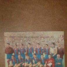Coleccionismo deportivo: CATALOGO DE FUTBOL DEL F.C. BARCELONA, BARÇA. CON FICHAS DE CADA JUGADOR DE 1953. . Lote 29880127