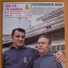 Coleccionismo deportivo: REAL MADRID - BOLETIN MENSUAL Nº 287 - ABRIL 1974. Lote 29898596