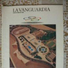 Coleccionismo deportivo: LA VANGUARDIA 1986 BARCELONA 92 EL PROYECTO OLIMPICO. Lote 30042700