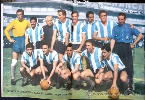 El grafico 1997 a o 1957 poster seleccion comprar for Revistas del espectaculo argentino