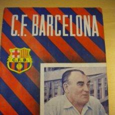 Coleccionismo deportivo: CLUB DE FUTBOL BARCELONA,FRANCISCO PLATKO, 17-9-1955 Nº 43.. Lote 30289360