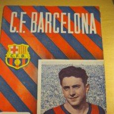 Coleccionismo deportivo: CLUB DE FUTBOL BARCELONA,ESTEBAN ARETA,14-1-1956 Nº53.. Lote 30289436