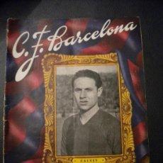 Coleccionismo deportivo: CLUB DE FUTBOL BARCELONA,CALVET 23-1-1949.. Lote 30301025