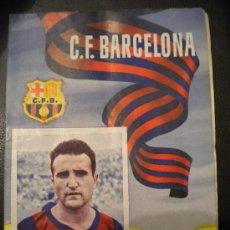Coleccionismo deportivo: CLUB DE FUTBOL BARCELONA,30-4-1955 Nº38.. Lote 30304888