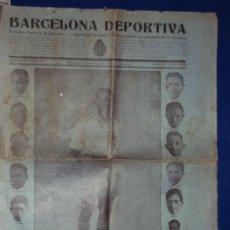 Coleccionismo deportivo: (F-87)BARCELONA DEPORTIVA Nº8-10 DE ABRIL 1925. Lote 30557910