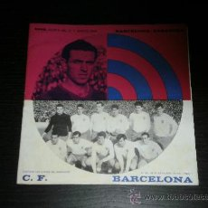 Coleccionismo deportivo: PROGRAMA OFICIAL - Nº 264 - NOV 1965 - FUTBOL CLUB BARCELONA / ZARAGOZA. Lote 30580354