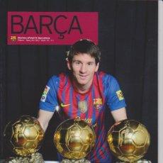 Coleccionismo deportivo: REVISTA OFICIAL DEL FUTBOL CLUB BARCELONA (EN CATALA) ++ FEBRER 2012. Lote 30845919