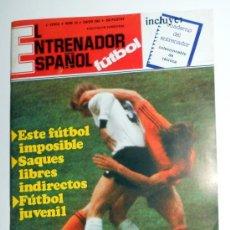 Coleccionismo deportivo: REVISTA DE FUTBOL EL ENTRENADOR ESPAÑOL Nº15 ENERO 1983 FUTBOL JUVENIL.. Lote 30975452