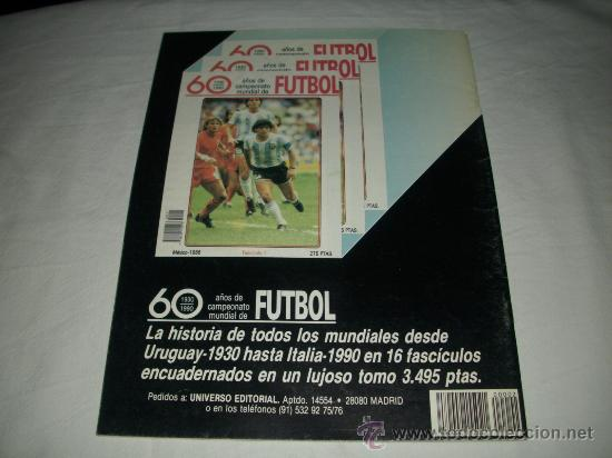 Coleccionismo deportivo: REVISTA ASES DEL FUTBOL MUNDIAL 2 MARADONA BONIEK IRIBAR MEAZZA PFAFF SPENCER RESENBRINK TOSTAO - Foto 2 - 30991513