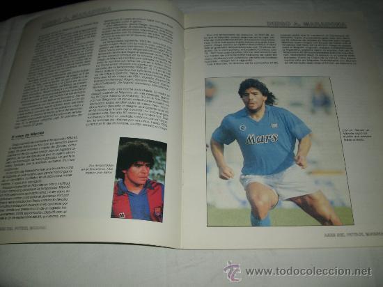 Coleccionismo deportivo: REVISTA ASES DEL FUTBOL MUNDIAL 2 MARADONA BONIEK IRIBAR MEAZZA PFAFF SPENCER RESENBRINK TOSTAO - Foto 4 - 30991513