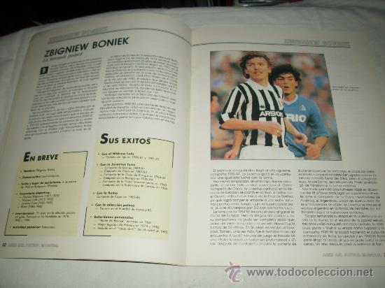 Coleccionismo deportivo: REVISTA ASES DEL FUTBOL MUNDIAL 2 MARADONA BONIEK IRIBAR MEAZZA PFAFF SPENCER RESENBRINK TOSTAO - Foto 5 - 30991513