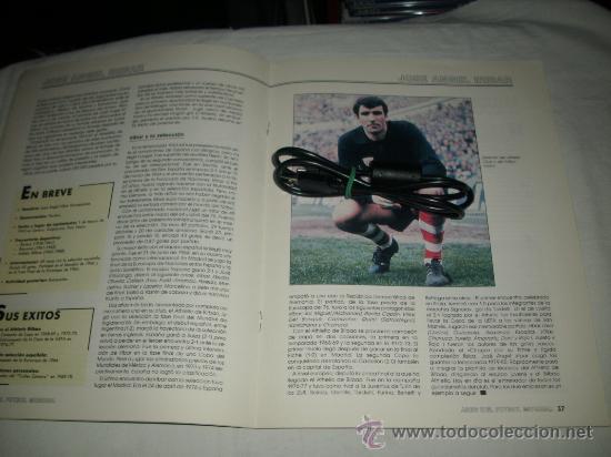 Coleccionismo deportivo: REVISTA ASES DEL FUTBOL MUNDIAL 2 MARADONA BONIEK IRIBAR MEAZZA PFAFF SPENCER RESENBRINK TOSTAO - Foto 7 - 30991513
