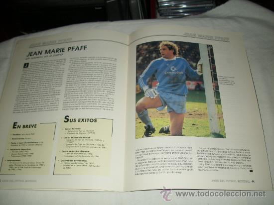 Coleccionismo deportivo: REVISTA ASES DEL FUTBOL MUNDIAL 2 MARADONA BONIEK IRIBAR MEAZZA PFAFF SPENCER RESENBRINK TOSTAO - Foto 9 - 30991513