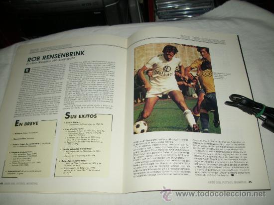 Coleccionismo deportivo: REVISTA ASES DEL FUTBOL MUNDIAL 2 MARADONA BONIEK IRIBAR MEAZZA PFAFF SPENCER RESENBRINK TOSTAO - Foto 11 - 30991513