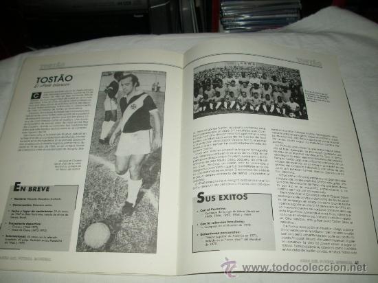 Coleccionismo deportivo: REVISTA ASES DEL FUTBOL MUNDIAL 2 MARADONA BONIEK IRIBAR MEAZZA PFAFF SPENCER RESENBRINK TOSTAO - Foto 12 - 30991513