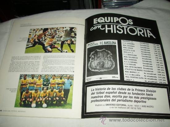 Coleccionismo deportivo: REVISTA ASES DEL FUTBOL MUNDIAL 2 MARADONA BONIEK IRIBAR MEAZZA PFAFF SPENCER RESENBRINK TOSTAO - Foto 13 - 30991513